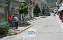 Προσωρινή διακοπή κυκλοφορίας σε μικρό τμήμα της οδού Αντώνη Βασιλείου στο Μουζάκι