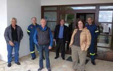 Επίσκεψη της διοίκησης Πυροσβεστικών Υπηρεσιών στο Δήμο Λίμνης Πλαστήρα
