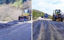 Αποκατάσταση ζημιών στην επαρχιακή οδό Ρεντίνας με όρια Ευρυτανίας (θέση Ζαχαράκη)