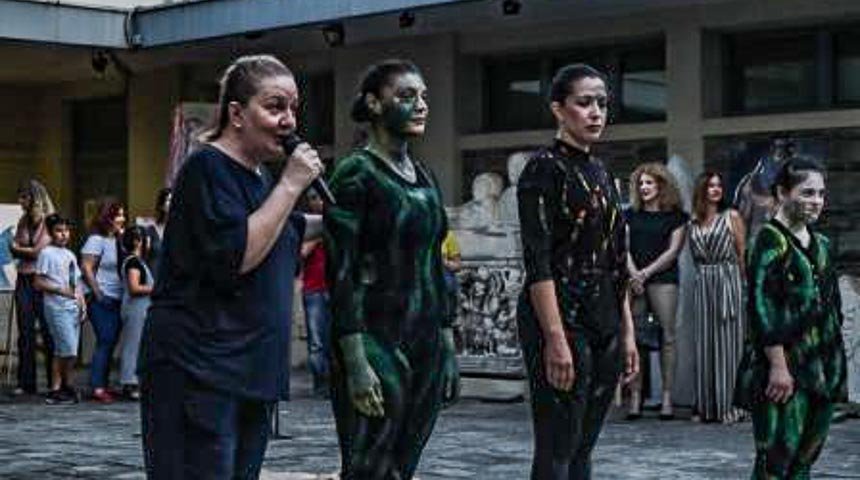 Συμμετοχή των Δρυάδων εν Πλώ στην έκθεση εικαστικών της 'Επίμονης Τέχνης' στο Αρχαιολογικό Μουσείο Θεσσαλονίκης