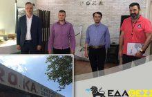 H Roka Refactories, βιομηχανία πυρίμαχων υλικών συνδέεται στο δίκτυο διανομής φυσικού αερίου της ΕΔΑ ΘΕΣΣ