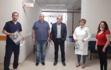 Επισκέψεις του Ιατρικού Συλλόγου Καρδίτσας στο Γ.Ν.Καρδίτσας και στα Κέντρα Υγείας του νομού