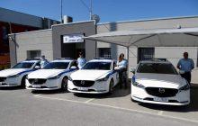 Με επιπλέον έντεκα (11) υπηρεσιακά οχήματα εξοπλίστηκε η Διεύθυνση Αστυνομία Λάρισας