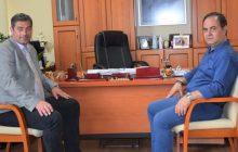 Συνάντηση του Αντιπροέδρου του ΕΛΓΑ κ. Δούκα με τον Δήμαρχο Καρδίτσας κ. Β. Τσιάκο