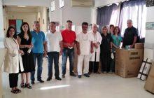 Δωρεά ιατροτεχνολογικού εξοπλισμού από το Δήμο Παλαμά στο Κ.Υ. Παλαμά