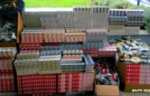 Συνελήφθη με 1.690 πακέτα αφορολόγητων τσιγάρων και περίπου 23 κιλά αφορολόγητου καπνού