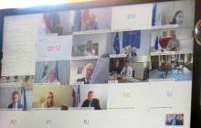 Ο Υπουργός Δικαιοσύνης Κώστας Τσιάρας στο άτυπο Συμβούλιο Υπουργών Δικαιοσύνης της Ε.Ε.