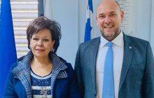Επίλυση ουσιαστικών προβλημάτων ζήτησε από τον Πρόεδρο του ΕΚΑΒ η Ασημίνα Σκόνδρα
