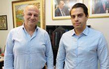 Με τον Υπουργό Δικαιοσύνης Κ. Τσιάρα συναντήθηκε ο πρόεδρος της ΟΝΝΕΔ Μουζακίου Α. Πήτας