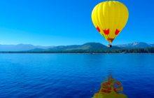 Αerial dance από αερόστατο, θα πραγματοποιηθεί σήμερα Σάββατο στις 6.30 το απόγευμα στην πλαζ Πεζούλας