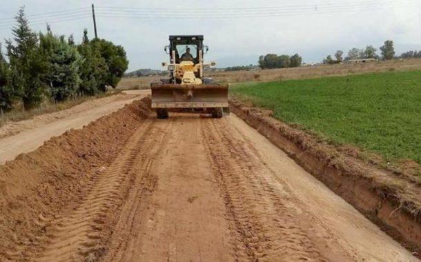 Έργα αγροτικής οδοποιίας προϋπολογισμού 330.000 χρηματοδοτεί η Περιφέρεια Θεσσαλίας στο Δήμο Σοφάδων