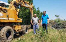 Καθαρισμός αρδευτικών καναλιών και ποταμών στο Δήμο Παλαμά
