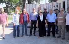 Είκοσι τόνους ροδάκινα μοίρασε ο Δήμος Καρδίτσας