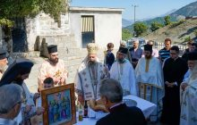 Στον Ι.Ν. Αγ. Αποστόλων Ρογκίων Βραγκιανών χοροστάτησε ο Σεβασμιώτατος Μητροπολίτης Θεσσαλιώτιδος κκ Τιμόθεος