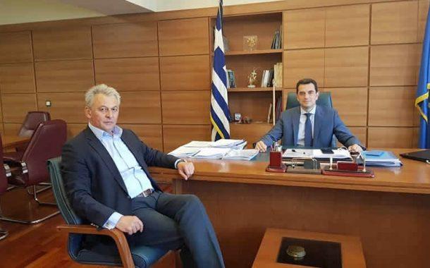 Συνάντηση Σκάρλου-Σκρέκα: «Πράσινο φως» για υπογειοποίηση αρδευτικών δικτύων στο Δήμο Σοφάδων
