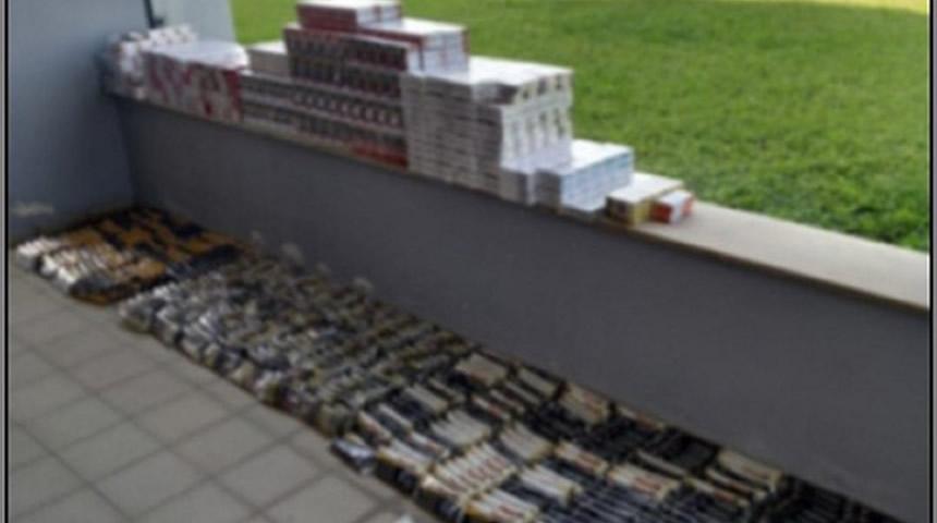 Λάρισα: Συνελήφθη με 1.240 αφορολόγητα πακέτα τσιγάρων και 387 αφορολόγητες συσκευασίες καπνού