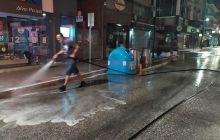 Καρδίτσα: Πλύσιμο και απολύμανση δρόμων, πλατειών και σχολικών προαυλίων