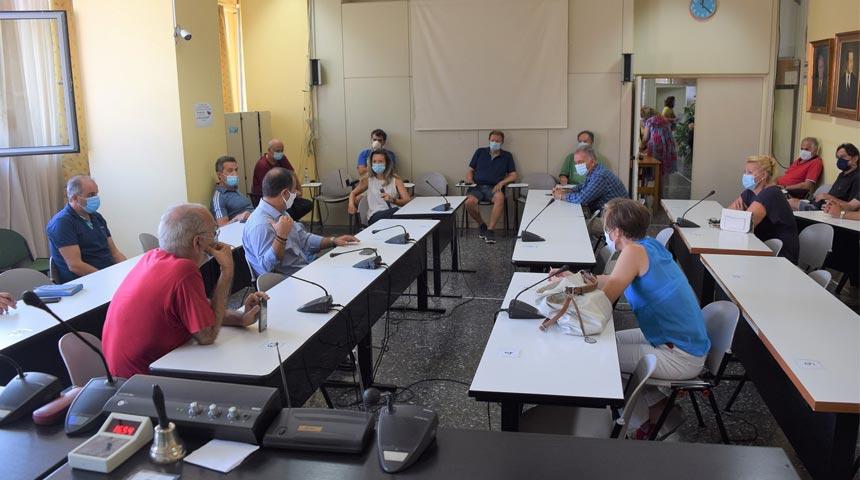 ΚΑΡΔΙΤΣΑ: Σύσκεψη στο Δημαρχείο με τους Διευθυντές των Σχολείων του Δήμου Καρδίτσας