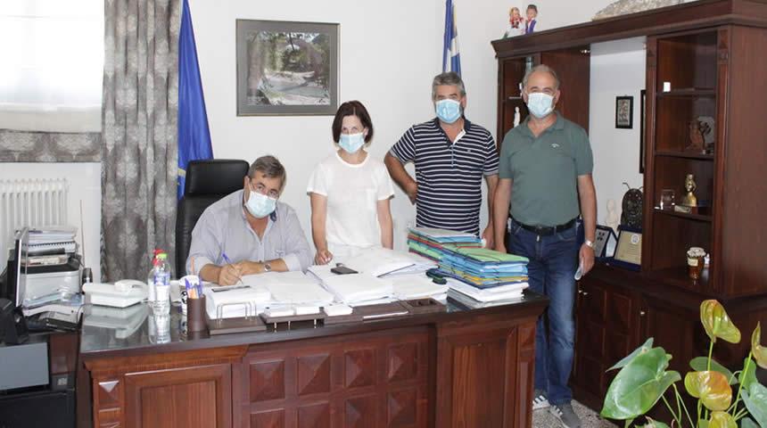 Δήμος Πύλης: Συντήρηση - κατασκευή τεχνικών υποδομών στην Δ.Ε. Αιθήκων