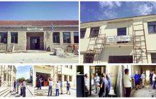 Επίβλεψη εργασιών στα δημοτικά σχολεία Αγναντερού και Μαυρομματίου από τον Δήμαρχο Δ. Μουζακίου
