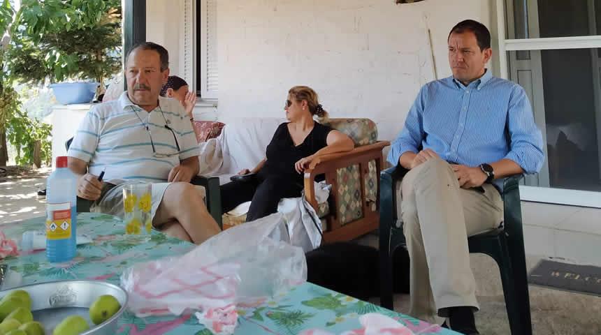 Συνάντηση Αντιπεριφερειάρχη Καρδίτσας με Πρόεδρο Τοπικής ΝΔ ΑΡΓΙΘΕΑΣ