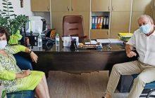 Επίσκεψη Ασημίνας Σκόνδρα στο Νοσοκομείο Καρδίτσας
