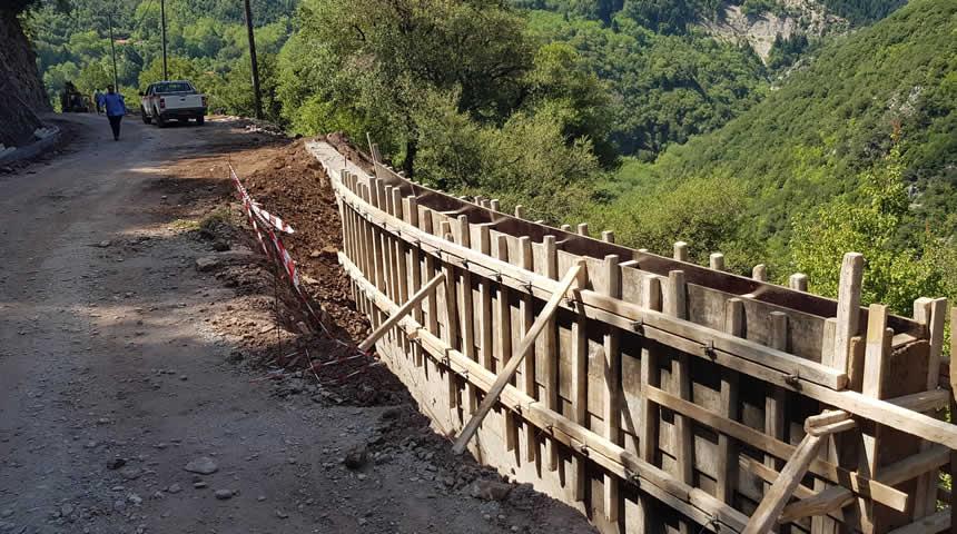 Ξεκίνησαν οι εργασίες στην οδό Ι.Μ Σπηλιάς – Στεφανιάδα