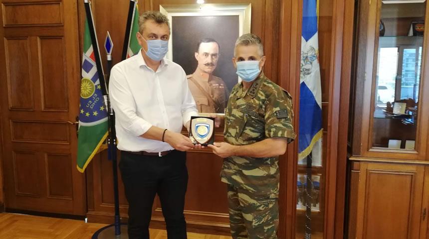 Συναντήσεις του βουλευτή Γ. Κωτσού με Διοικητή 1ης Στρατιάς και Αρχηγό ΑΤΑ