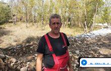 Στο mouzakinews ο άνθρωπος που κατάφερε να επιβιώσει μόνος του μέσα στο δάσος την ώρα της καταστροφικής πλημμύρας
