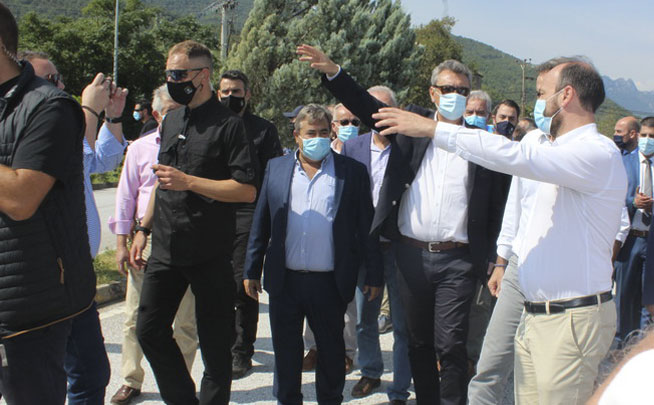 Ο Δήμαρχος Πύλης κ. Κωνσταντίνος Μαράβας συμπαραστέκεται με όλες του τις δυνάμεις στον πληγέντα όμορο Δήμο Μουζακίου
