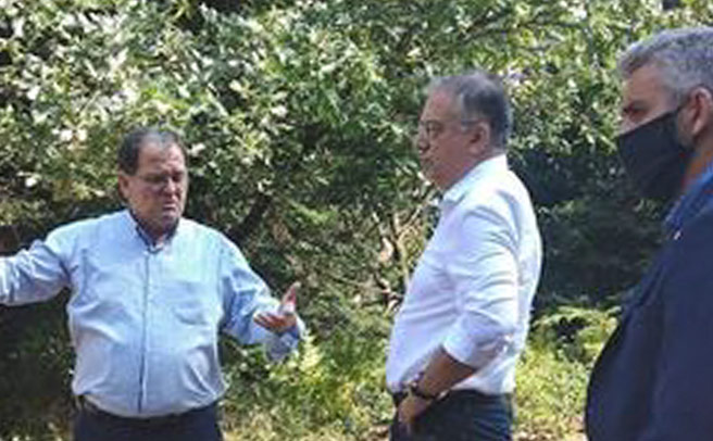 Ο Υπουργός Εσωτερικών στο Δήμο Λίμνης Πλαστήρα για τις καταστροφές που προκλήθηκαν από την πρόσφατη θεομηνία