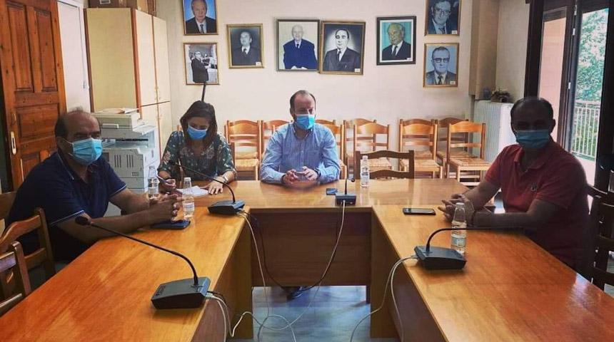 Σύσκεψη για μέτρα προστασίας λόγω κορωνοϊού στο Δήμο Μουζακίου