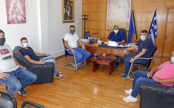 Συνάντηση Θάνου Σκάρλου με το Δ.Σ του Υπεραστικού ΚΤΕΛ Ν. Καρδίτσας