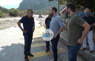 Στο Μουζάκι ο Περιφερειάρχης Θεσσαλίας Κώστας Αγοραστός για τις καταστροφές (video)