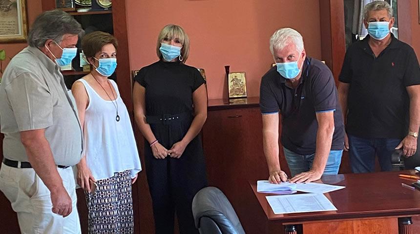 Δήμος Παλαμά: Υπογράφηκε η σύμβαση του έργου για την ενεργειακή αναβάθμιση του Δημαρχείου