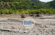 Σε εξέλιξη οι εργασίες στην κοίτη του ποταμού Παμίσου στο Μουζάκι