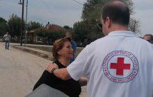 Ο Ερυθρός Σταυρός κοντά στους πληγέντες του Δήμου Μουζακίου