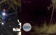 Φωτιά σημειώθηκε χθες βράδυ σε χορτολιβαδική και δασική έκταση στην Μαγουλίτσα