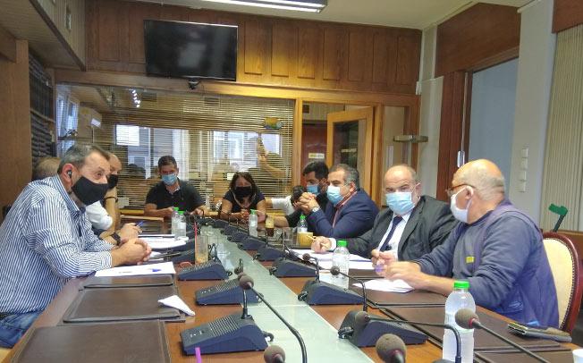 Επίσκεψη αντιπροσωπείας της ΓΣΕΒΕΕ στην Καρδίτσα