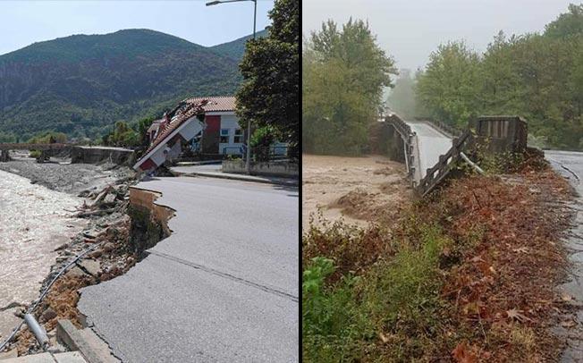 Ιανός: Σε υποδομές οι μεγαλύτερες ζημιές στο Δήμο Μουζακίου