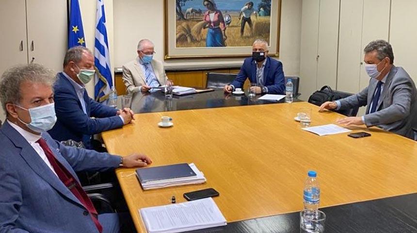 Συνάντηση του Βουλευτή Γ. Κωτσού και Βουλευτών της Ν.Δ. με τον Πρόεδρο του ΕΛΓΑ