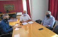 Τον Δήμο Αλμυρού επισκέφθηκε ο Πρόεδρος της Π.Ε.Δ. Θεσσαλίας κ. Θαν. Νασιακόπουλος