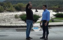 Στο Μουζάκι για τις καταστροφικές πλημμύρες ο Υφυπουργός Κώστας Σκρέκας  (video)