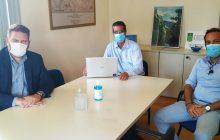 Συνάντηση Δημάρχου Αργιθέας με τον Πρόεδρο & τον Αντιπρόεδρο του Πράσινου Ταμείου