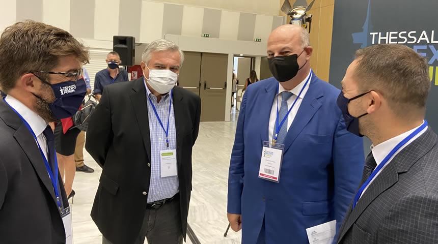 Επίσκεψη του υπουργού Δικαιοσύνης Κ. Τσιάρα σε ΕΣΔΙ και ΔΕΘ