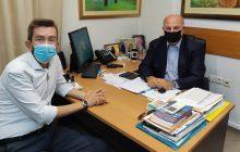 Τον Υπουργό Δικαιοσύνης Κ. Τσιάρα επισκέφθηκε ο νέος Διευθυντής της Πρωτοβάθμιας Εκπαίδευσης Αθ. Μπότας