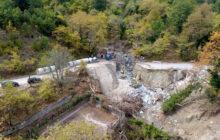 Αποκατάσταση ζημιών στη γέφυρα Ανθοχωρίου από την Π.Ε Καρδίτσας