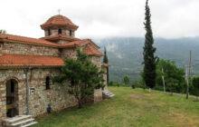Το δρόμο προς την ΙΜ Μεγαλομάρτυρος Αγ. Προκοπίου του Δ. Πύλης βελτιώνει η Περιφέρεια Θεσσαλίας