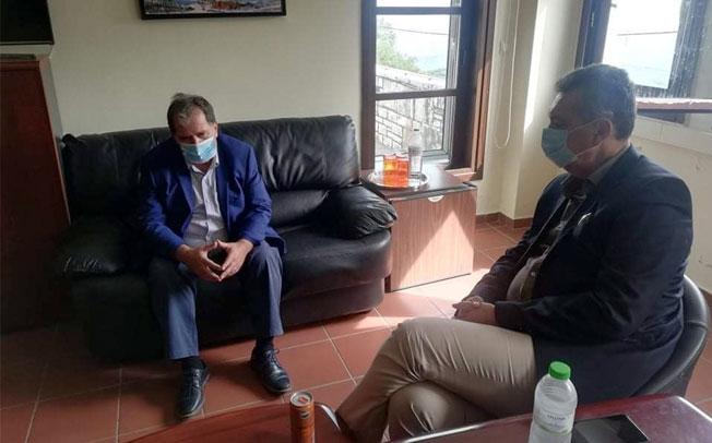 Περιοδεία Γ. Κωτσού σε χωριά της Λίμνης Πλαστήρα: Στα 6,5 εκατ. ευρώ κοστολογεί τις ζημιές από τον «ΙΑΝΟ» ο δήμος