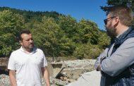 Περιοδεία Νίκου Παππά στους πληγέντες δήμους Αργιθέας και Λίμνης Πλαστήρα
